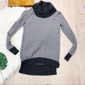 LOFT Tops - Loft   Women's Gray Cowlneck Sweater Med Top  1573